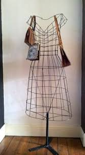 Mannequin Coat Rack A wire mannequin form makes an eyecatching intheround display 92