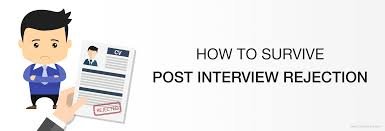 how to survive post interview rejection cv showcase blog how to survive post interview rejection