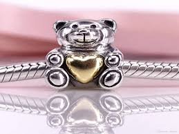 pandora jewelry canada inspirational authentic 925 sterling silver bear my heart charm fit diy pandora of