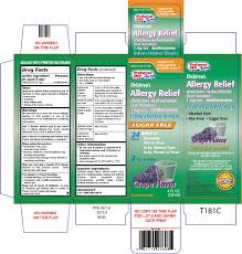 Childrens Allergy Relief Solution Preferred Plus Kinray