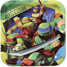 Ninja Turtles Characters 8 Luncheon ...
