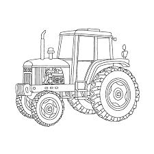 Tractors Kleurplaten Kleurplatenpaginanl Boordevol Coole