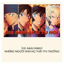 Conan Vietnam FC - THE AKAI FAMILY Họ là ai? Là FBI, là Danh nhân Shogi, là  nữ thám tử học sinh, là MI6. Gia đình Akai có thể được xem như