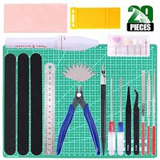 Keadic 29Pcs Gundam Modeler Basic Tools Craft Set ... - Amazon.com