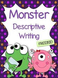 best school images classroom displays classroom descriptive writing create a monster 1 deal