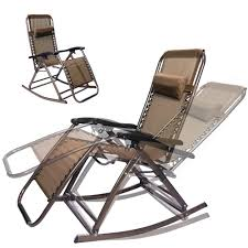 infinity zero gravity folding reclining chair brown rocking chair outdoor lounge