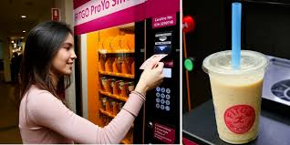 Smoothie Vending Machine Custom Fitgo KL's First Protein Yoghurt Smoothie Vending Machine