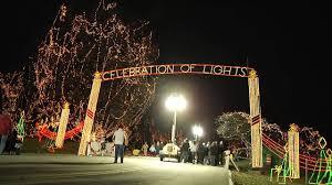 Christmas Light Installation O Fallon Mo Ofallontv Celebration Of Lights Ofallon Missouri