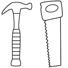 Small Picture Adult Tools Coloring Page Doctor Tools Coloring Page Science Hand