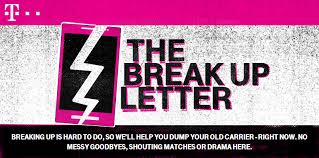 Write Your Break-Up Letter To At&t, Verizon And Sprint Using This ...