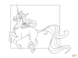 Small Picture Cute Unicorn coloring page Free Printable Coloring Pages