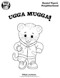 Tigers Neighborhood Free Coloring Pages Tiger And His Friends Page