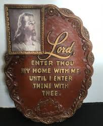 plates plaques blessed this house