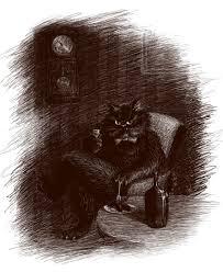 кот бегемот мастер и маргарита в 2019 г тату иллюстрации и кот