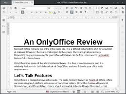 microsoft office presentations onlyoffice an open source microsoft office contender worth your time
