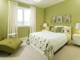 bedroom: Remarkable Green Bedroom With Comely Big Bed Ideas And Cute White  Shade Lamp Ideas  Image of: Modern Bedroom Colors 2014