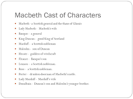 on a sheet of paper respond to the following question in at least  77 macbeth