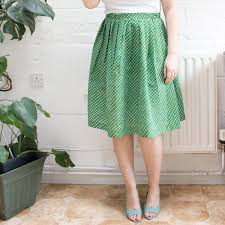 Simple Skirt Pattern Beauteous How To Make A Gathered Skirt