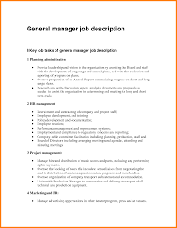 job specification of office manager ledger paper general manager job description by cangvina