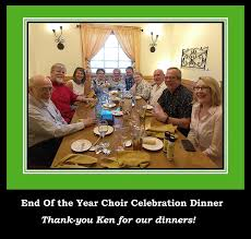 proof we had such a grand time what yummy y y y end of the year choir party dinner at olive garden food portraits let me think about that and