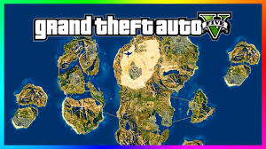 awesome gta 5 'mega world' concept map!! 8x size of current los Map Gta 5 awesome gta 5 'mega world' concept map!! 8x size of current los santos map! (gta 5 gameplay) youtube mapgta5hiddengems