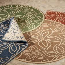 beautiful and elegant outdoor rugs for patios round and square fl outdoor rugs for patios