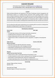 Resume Work Experience Examples For Customer Service Resume Customer