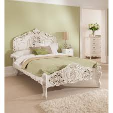 Antique French Style Rococo Bed