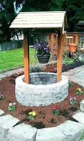 wishing well covers pump decorative outdoor cover co sump cap p water