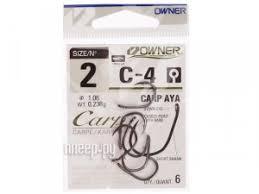 Купить Owner C-4 <b>Carp №</b>2 6шт 50924 по низкой цене в Москве ...
