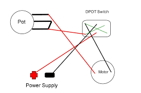 wiring diagram spdt switch wiring image wiring diagram how to wire a dpdt rocker switch for reversing polarity 5 steps on wiring diagram spdt