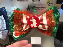 Light Up Christmas Bows Photos New Light Up Holiday Minnie Mouse Hair Bow Shines At