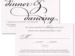 Wedding Invitations With Rsvp And Reception Cards Best Designing