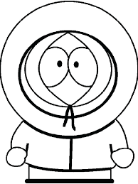 South Park Coloring Page South Park Color Pages Characters Coloring