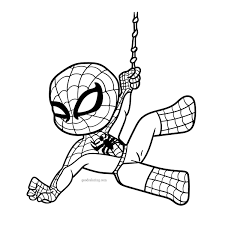 Spiderman coloring pages for kids. Cool Spiderman Coloring Pages Goodcoloring Coloring Home