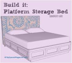 platform bed with drawers plans. 81 Best Building A Bed Frame With Drawers New York Spaces Magazine Platform Bed Drawers Plans