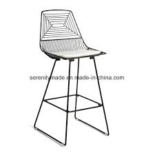 wire furniture. Outdoor Use Round Metal Wire High Bar Table Furniture