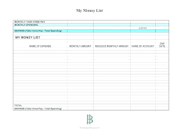 Free Printable Weekly Budget Worksheet Template Monthly Facebook For ...