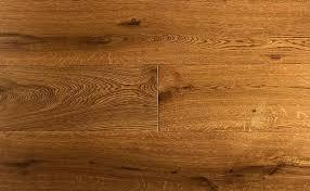Wide Plank White Oak Hardwood Flooring Cognac Wire Brushed