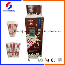 Movie Vending Machine Delectable China Automatic Popcorn Vending Machine China Home Theater Popcorn