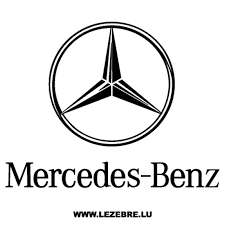 Sticker Mercedes Benz Logo