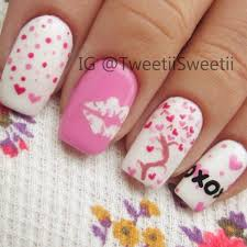 22 Beautiful Valentine Nail Designs to Symbolize Love - Be Modish