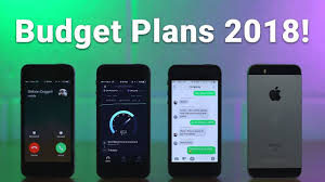 best budget cell phone plans 2018