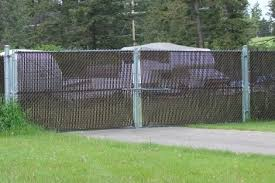 chain link fence double gate. Chainlink With Privacy Slats. Chain Link Fence Double Gate
