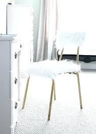 fur chair faux dining throw mongolian cushion fur chair faux