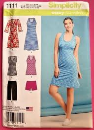 Simplicity Patterns 40 Misses' Easy Knit Sport Dresses Tunics And Adorable Simplicity Patterns