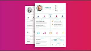 Designers Resume Ui Ux Designers Resume Design Tutorial In Adobe Illustrator Cc Simple Version