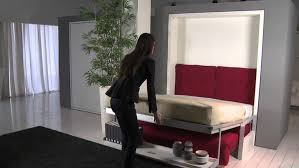 Functional interior designs with modern Murphy sofa beds