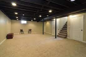 11 painted basement ceilings ideas