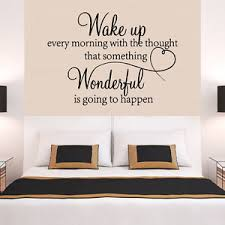 heart family wonderful bedroom quote wall stickers art room removable decals diy on bedroom wall art phrases with bedroom wall quotes ebay